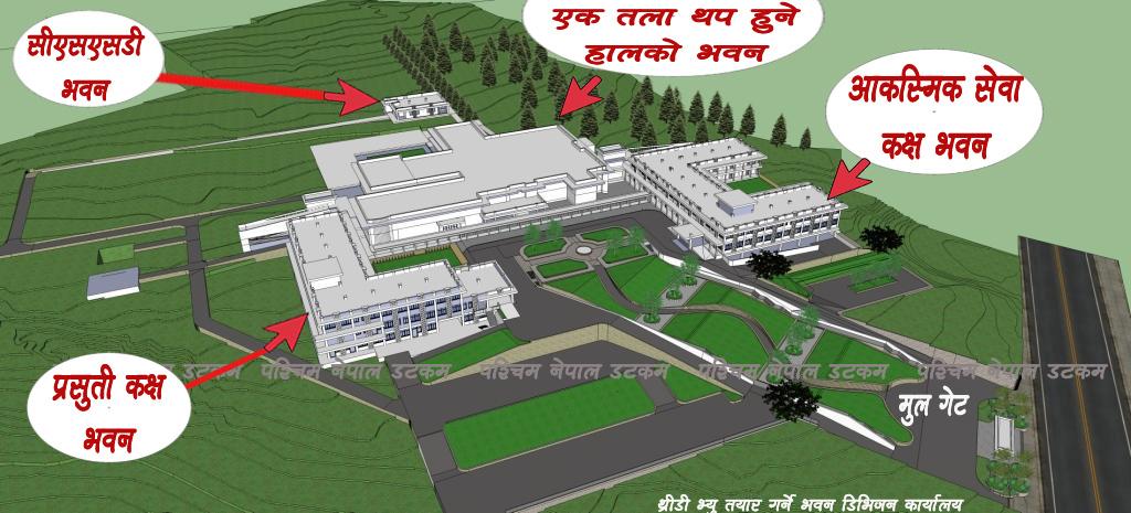surkhet-hospital-3d